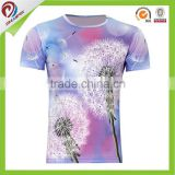 100% polyester Wholesale custom own round neck t shirts made in china                                                                         Quality Choice