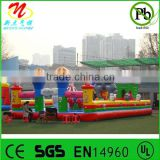 Outdoor inflatable fun city kids inflatable amusement park