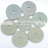 Generation 2 Dry use diamond flexible polishing pads for granite, engineer stone, marble                                                                                                         Supplier's Choice