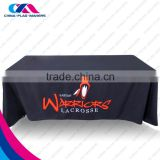 custom print polyester table cloths for rectangle                                                                         Quality Choice