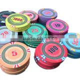 ceramics poker chips