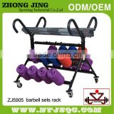 Fitness Gym steel 20 sets barbell rack/Barbell Set Rack/Fitness new gym barbell 15-sets Rack/Fitness new gym barbell set rack