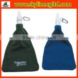 Golf ball Cleaning Towel with hook and Cleaning spray bottle