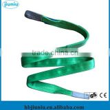 Colorful varies of braided nylon flat belt/ nylon endless belt/ nylon lifting belt