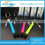 Factory supply good reputation unreal automated selfie stick,bluetooth selfie stick