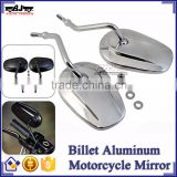 BJ-RM-062 New Style Universal Billet Aluminum Chrome Rearview Mirror Motorcycle for Harley Sportster 883