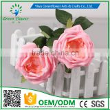 2016 Wholesale Multicolor Latex PU Artificial Flowers Diamond Rose Real Touch Bouquet Wedding Bridal Decor Display Flower