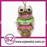 Wholesale fashion old design jewelry necklace owl