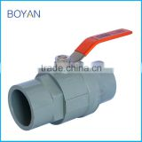 China supplier 1/2 to 4 inch two pieces ball valve
