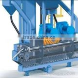 ZJ210 Leaf Spring Shot Blsting Machine, Industry Circle Spring Sand Cleaning Machine