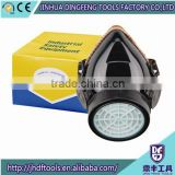 Dual-valve Dust Masks Protective Respirator Painting Mask Dust Spraying Mask Formaldehyde Pesticides Anti Second Smoke
