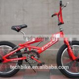 20 inch bmx bike/bicycle steel frame cheap steel material