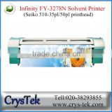 Crystek FY-3278N Large format solvent printer with Seiko SPT510 print head