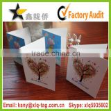 2015 Kids Christmas Greeting Card,Handmade Decoration Greeting Card,Cheap Printing Christmas Card for business