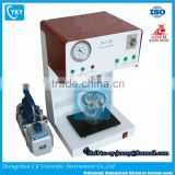 CY Dental Laboratory Equipment Adjustable Speed Vacuum Mixer with All Accessories