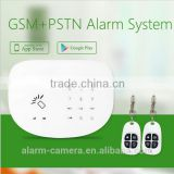 Wireless Automation alarm system with LCD and Keypad wired burglar alarm system spport Telephone line