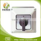 Good Quality 20A 4-CELL 3POS/2POS Cam switch with Protective Enclosure (IP65), Cam Switch/