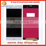 original for sony xperia z3 lcd monitor assembly with touch screen perfect using