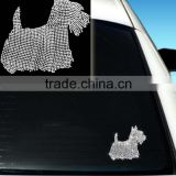Hot Selling Beautiful Dog Design Car Window Stickers