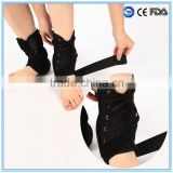 Steel bars padded orthopedic ankle wraps ankle support brace - ankle stablizer                                                                         Quality Choice