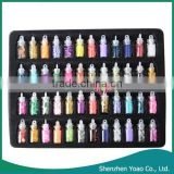 Wholesale 48 Colors Glass Bottled Nail Art Decoration / Nail Art Product