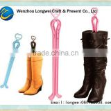 women boot care plastic shoe tree/boot stretcher/shoetree/shoe lasts
