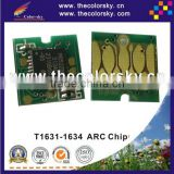 (ARC-E-T1631R) ARC auto reset inkjet ink cartridge chip for Epson T1631 T1632 T1633 T1634 Workforce WF-2010W WF-2010