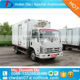Famous Thermo King Refrigerator Truck 4x2 Food Meat Transportation Cooling Van Truck Freezer For Sale