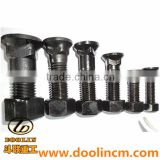 Hot Sale High Tensile Excavator Bulldozer Spare Parts Plow 4F3656 4F3657 4F3658 Nut Bolt