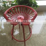 Esschert Design Vintage Adjustable Tractor Seat Bar Stools