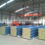 sandwich panel,steel Material and House,Hotel Use rock wool sandwich panel prefab houses