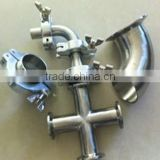 KF Vacuum Pipe Fittings /KF Vacuum Pipe Flange Fittings