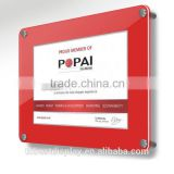 Factory wholesale advertising poster board, stand poster, cheap poster stands