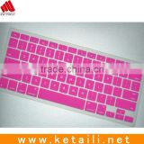 Wholesale Silicone keyboard cover for macbook pro 11'' 13'' 15'' 17''