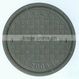 Ductile Cast Iron Single Seal Solid Top Square Manhole Cover and Frame EN124 B125,C250,D400