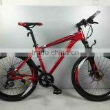 Customized aluminum mtb full suspension frame 24speed mountain bike 29er
