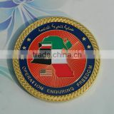 Custom made colored metal gold game coin token