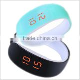 2016 Fashion Bracelet Led Digital Watch logo printing led Wristband Watches Ladies Dress Wrist watch digital-watch