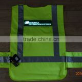 PYL-EL-SV001-IDE-AA High-Luminance EL Safety work clothes / EL Safety work vest / EL safety Clothes