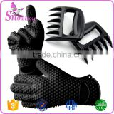 Barbecue Essential High Quality Bear Paws Pulled Pork Shredder Claws - BBQ Meat Handler Fork & Grill Glove Set                                                                         Quality Choice