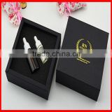 High End Black Custom Bottle Packaging Box for Perfume/ Nutrition