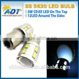 Super Bright 1156 Ba15s Bau15s CR.EE Q5 5630 LED Auto Bulb Turn Signal Rear Light Bulb Lamp