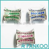2016 Factory outlet the new design 925 sterling silver fashion special type inlay zircon charm bead fit pankoo bracelet gift