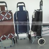 Mini Folding Shopping Cart,600d Polyester Folding Shopping Trolley From Chinese Supplier