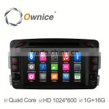 Ownice C300 Android 4.4 quad core car dvd GPS navigation system for BENZ W209 support ipod FM AM radio