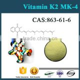 Factory Price 99% Purity 863-61-6 Vitamin K2 Powder MK4 MK7