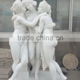 French museum and garden decoration nude statue woman sculpture