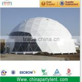 15m High Quality Steel Frame Geodesic Dome Tent For Event