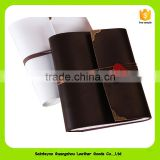 16354 DIY Vintage Antique Binding Leather Case Photo Albums Handmade Photography for Kids Scrapbooking Wedding Family