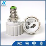 plastic lampholder e14 to gu10 lamp base lamp socket adapter
